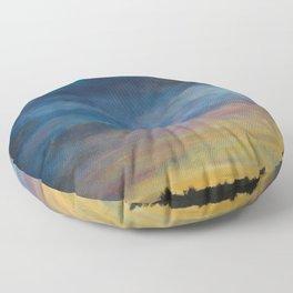 Skymningstiden Floor Pillow