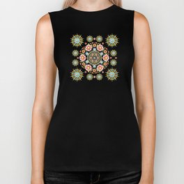 Flower Crown Carnival Biker Tank