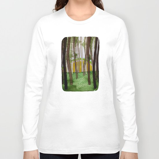 Landscapes / Nr. 5 Long Sleeve T-shirt
