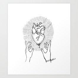 Stay Sharp Art Print