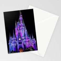 Walt Disney World Christmas Lights Stationery Cards