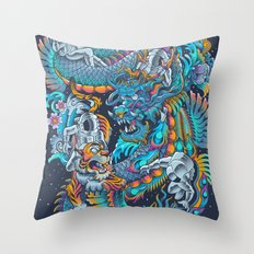 New Space Found Throw Pillow
