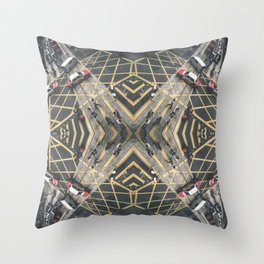 Hong Kong Kaleidoscope 06 Throw Pillow