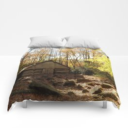 Cabin in the Woods Comforters
