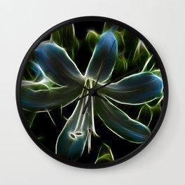 Agapanthus Flower Wall Clock