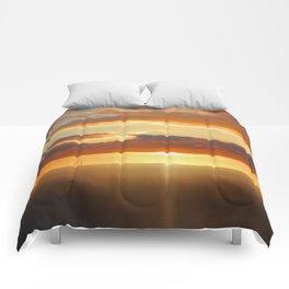Irish Sea - Heavy Skys (Digital Art) Comforters