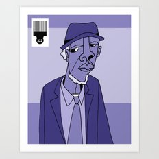 1001 Black Men--#322 Art Print