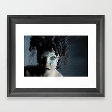 Midnight masquerade Framed Art Print