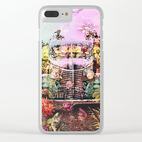 Driving Miss Daisy Clear iPhone Case