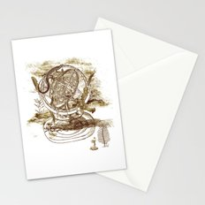 strange artefact Stationery Cards