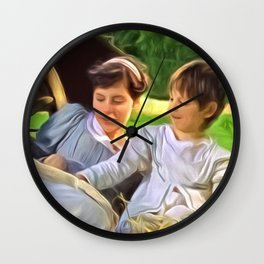Look at the pretty pictures Wall Clock