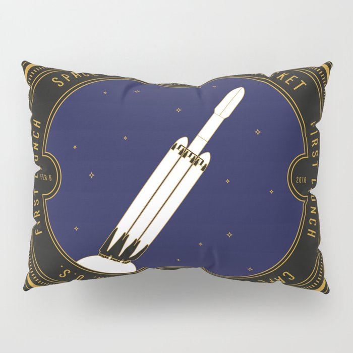 Falcon Heavy Pillow Sham