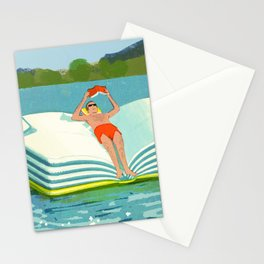 Summer Reading on the Lake Stationery Cards