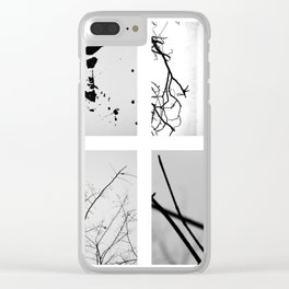 resources for my soul's sustenance Clear iPhone Case