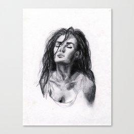 Megan Fox Sketch Canvas Print