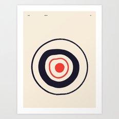 SOLAR PRIMITIVE 001 Art Print