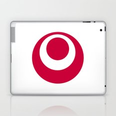 okinawa region flag japan prefecture Laptop & iPad Skin