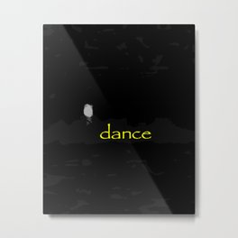 Dance (flame) Metal Print