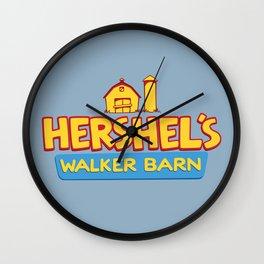 Hershel's Walker Barn Wall Clock