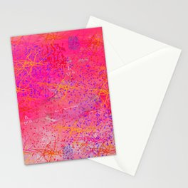A state of calm pink Stationery Cards
