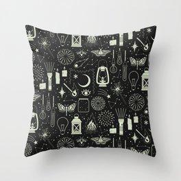 Light the Way: Glow Throw Pillow
