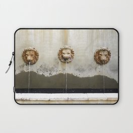 Three Lions Fountain Laptop Sleeve