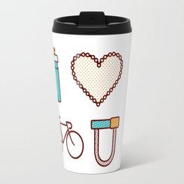 I ♥ 2 Ride U Travel Mug