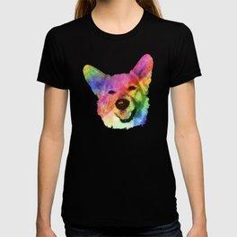 Rainbow Corgis T-shirt