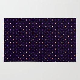 Sparkle Pattern (Purple) Rug