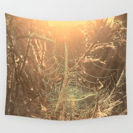 Gothic sunrise Wall Tapestry