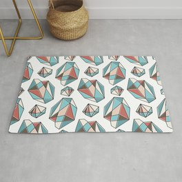 Diamonds are forever Pattern 3 Rug