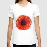 poppy T-shirts featuring Poppy by Klara Acel