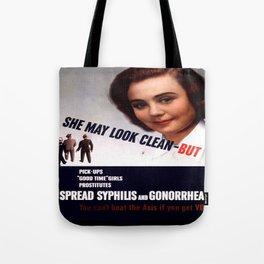 Vintage poster - STDs Tote Bag