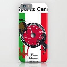 Ferrari, Maserati, Lamborghini : an italian trilogy. Vintage Decoration Print Poster iPhone 6 Slim Case
