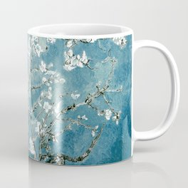 Vincent Van Gogh Almond Blossoms Teal Coffee Mug