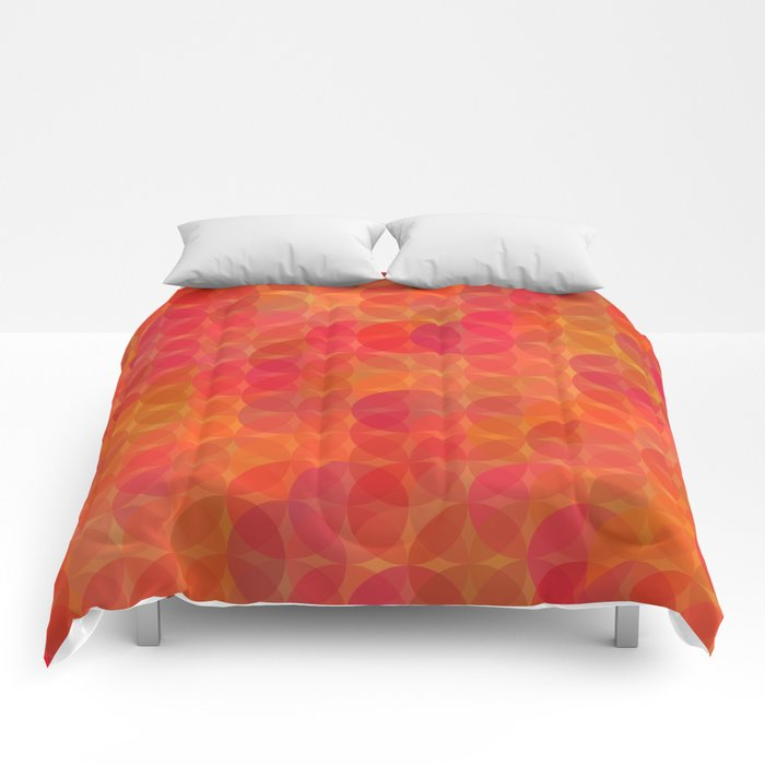 Stained Glass Sunrise Comforters