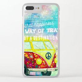 life quote... Clear iPhone Case