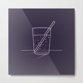 Neon soda Metal Print