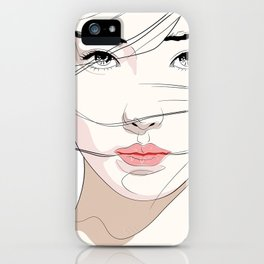 Under The Mask iPhone Case