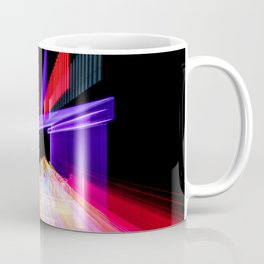Moving Out zoom burst photograph Fremont Theater San Luis Coffee Mug