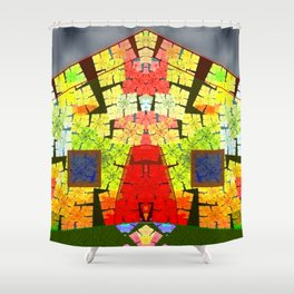 Old house of fun Shower Curtain