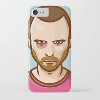 jesse pinkman iPhone & iPod Cases featuring Jesse Pinkman by Sherif Adel