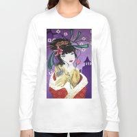 mulan Long Sleeve T-shirts featuring Mulan by marmaseo