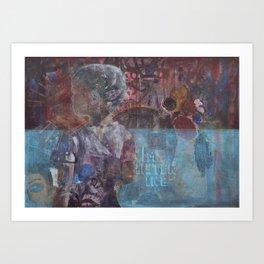 Swazi Art 5 Art Print