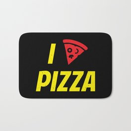 I heart Pizza Bath Mat