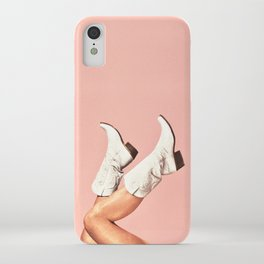 These Boots - Pink iPhone Case