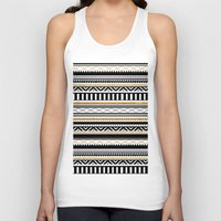 aztec Tank Tops featuring Aztec by Kakel