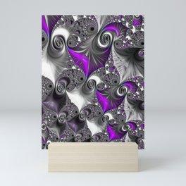 A Hint Of Purple Mini Art Print