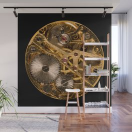 Time is passing by - antique watch Wall Mural