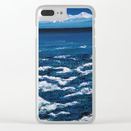 College Fjord Clear iPhone Case